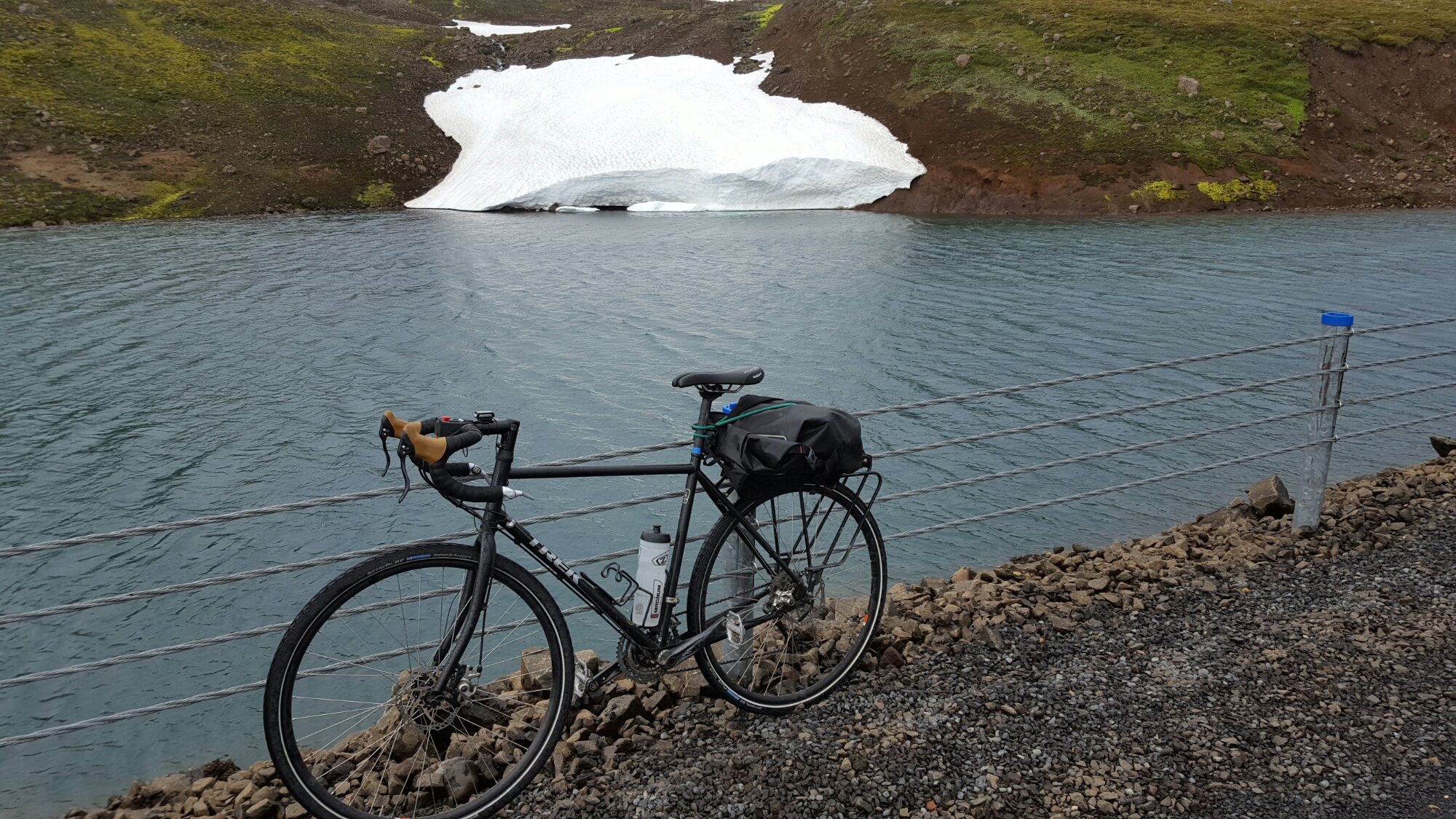 Ballade au fjord de Seydisfjördur dur