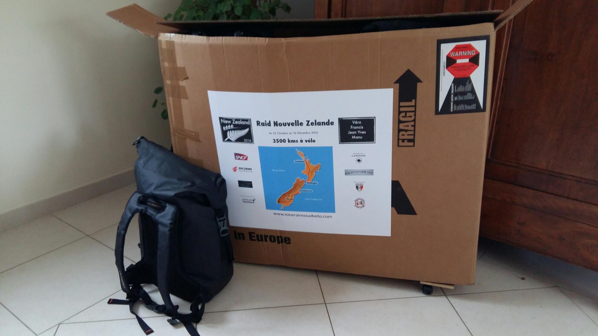 23kgs de carton et 6kgs de sac. J-1/2…..😊