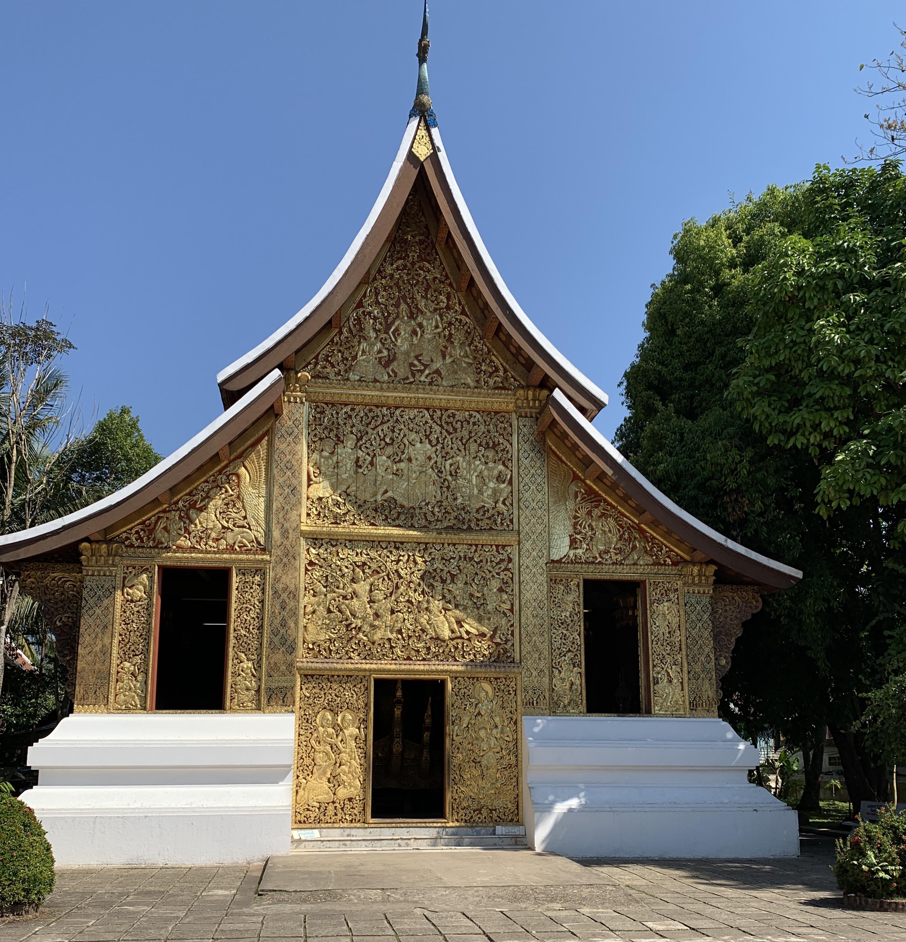 De temples en temples à Luang Prabang.
