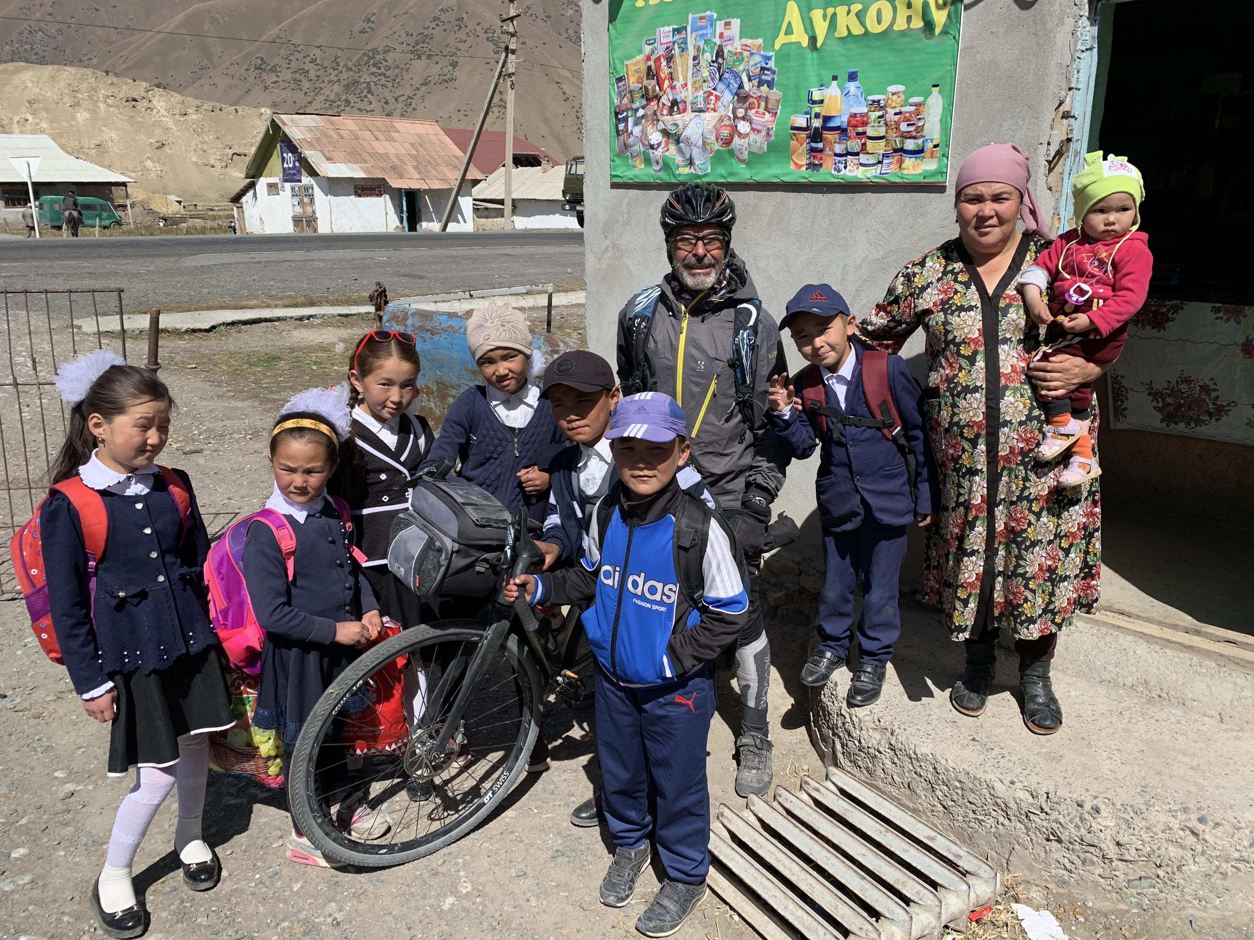 Raid vélo Pamir